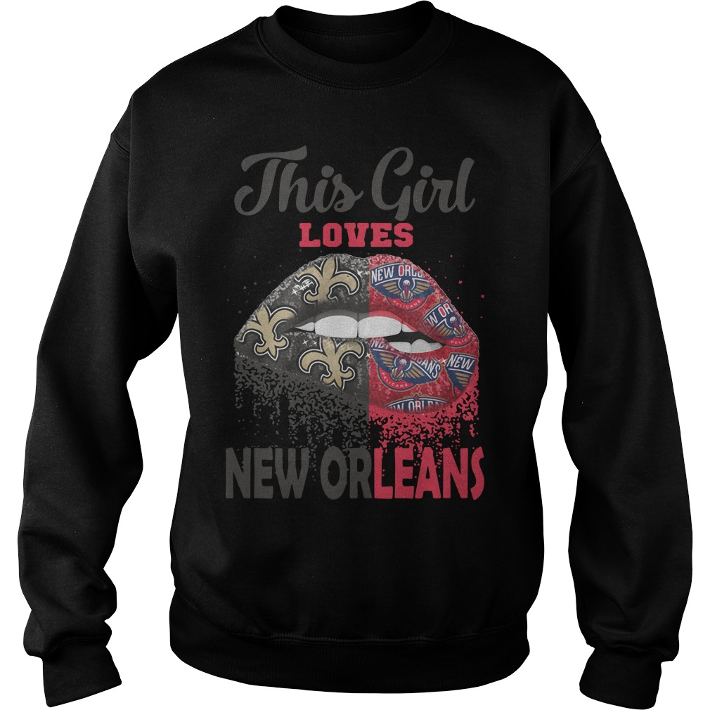 Lip This Girl Loves New Orleans Sweater
