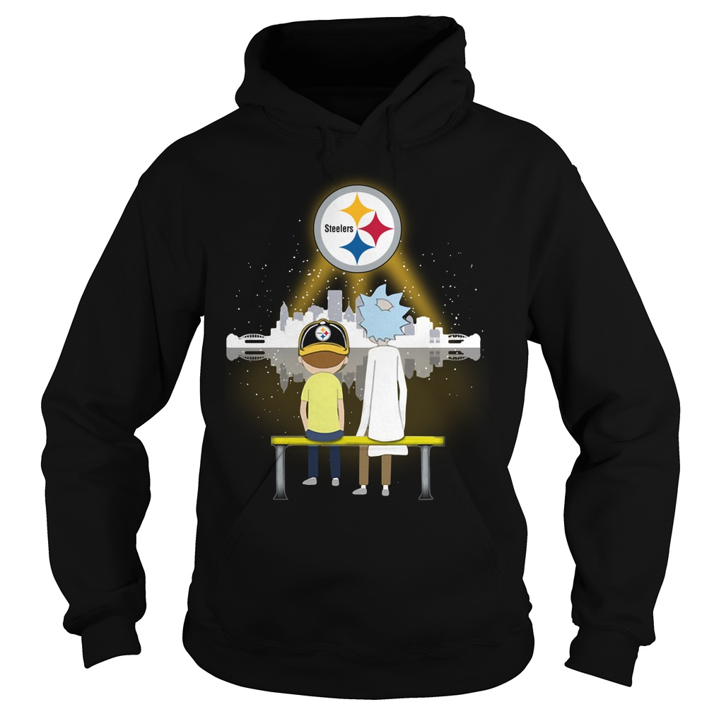 Rick And Morty Pittsburgh Steelers Shirt