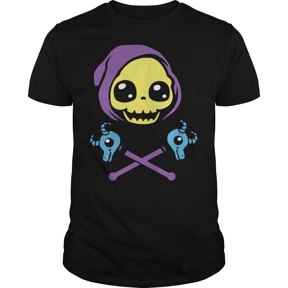 Skeletal And Crossbones Skull Shirt