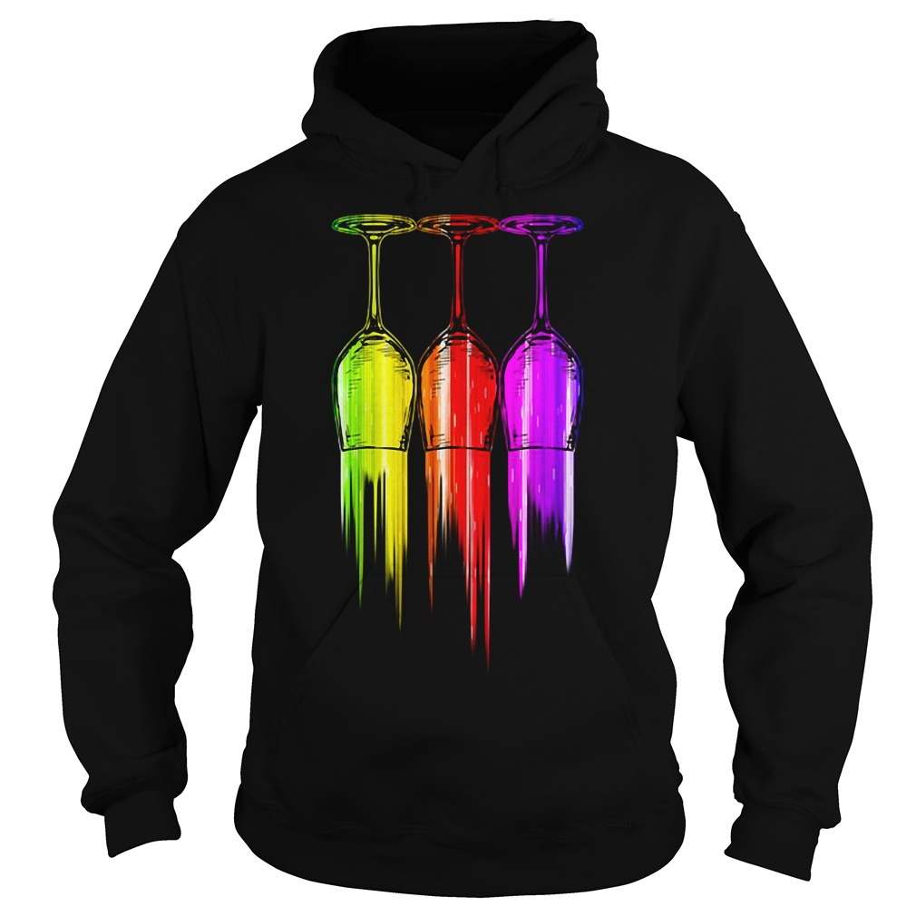 Three Wine Color Halloween Shirt