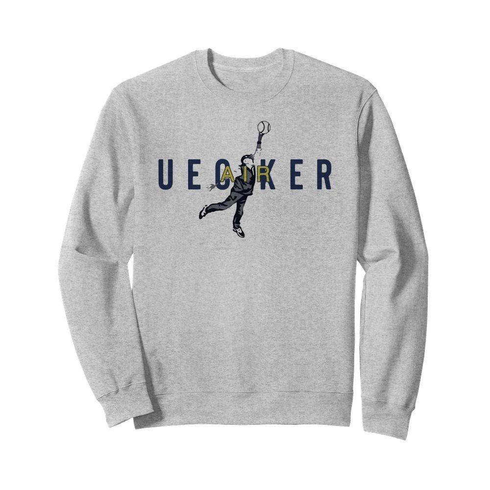 Air Uecker Milwaukee Brewers Baseball Shirt