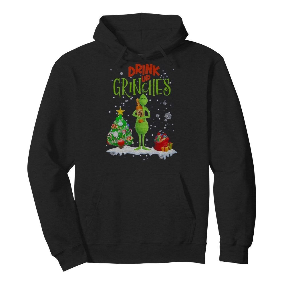Drink Up Grinches Christmas Captain Morgan Shirt
