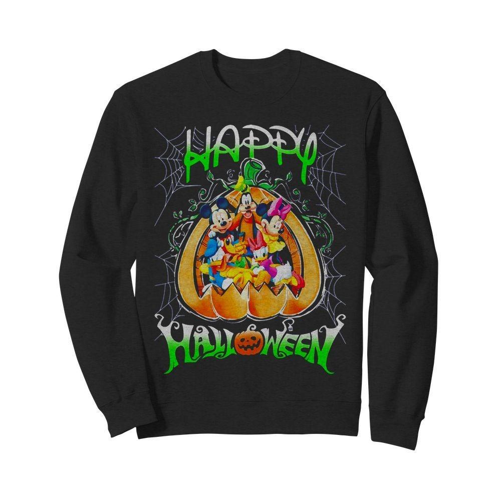 Happy Halloween Mickey Mouse Disney Shirt