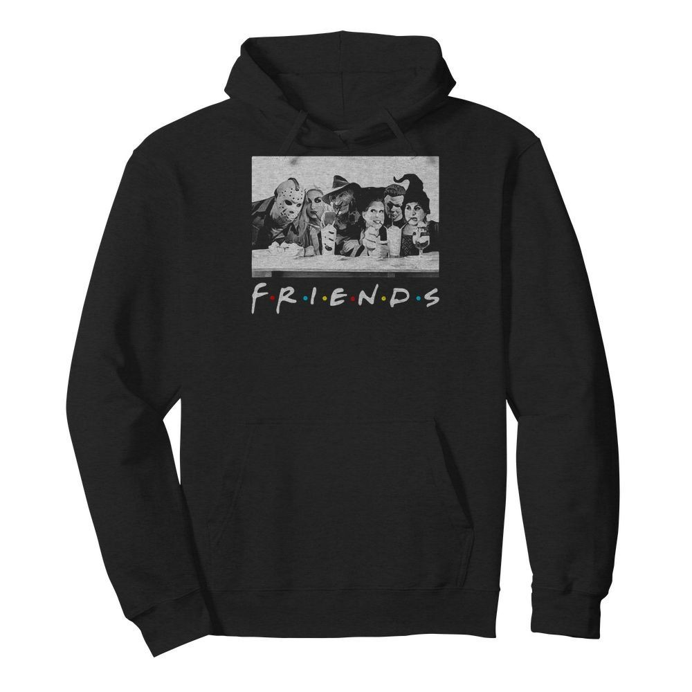 Hocus Pocus Horror Halloween Friends Hoodie