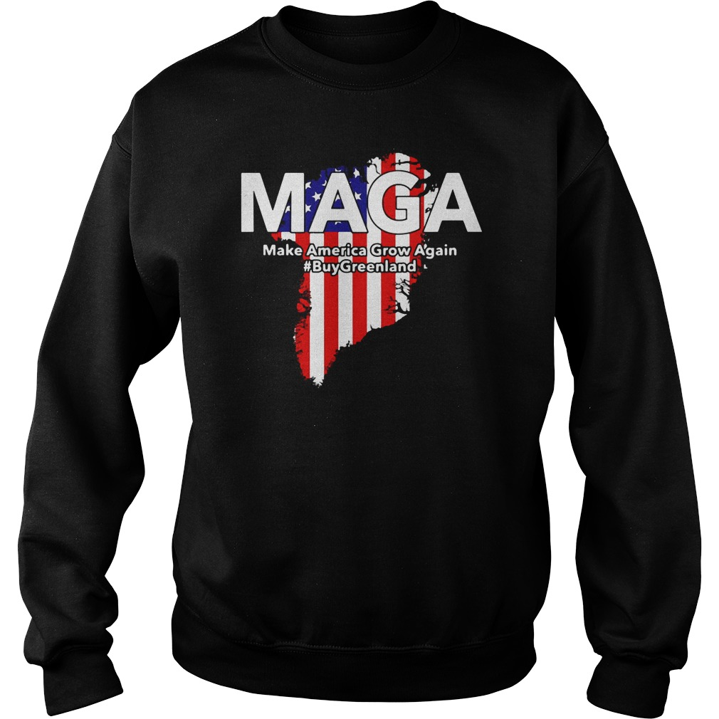Maga Trump Buy Greenland Make America Grow Again Shirt
