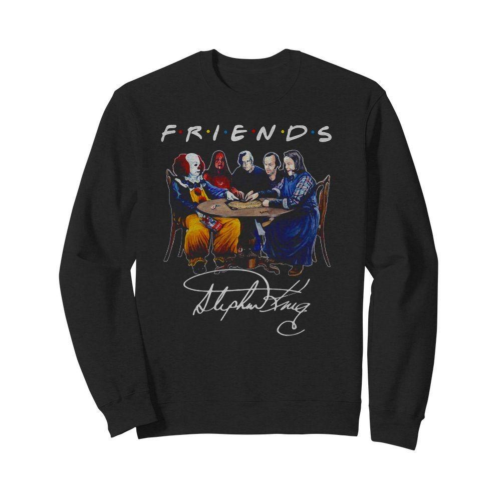 Stephen King Horror Friends Signature Shirt