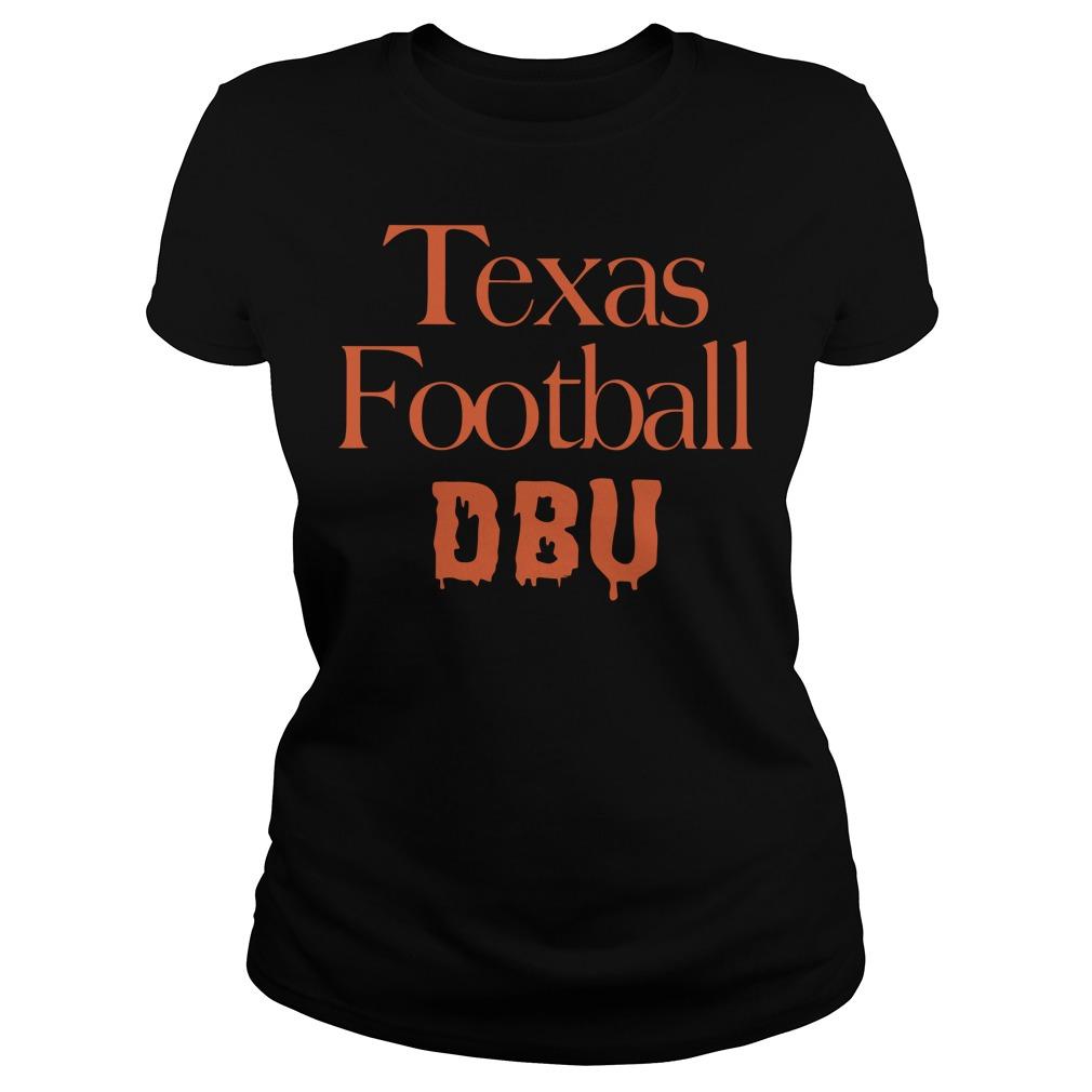 Texas Football Dbu Shirt