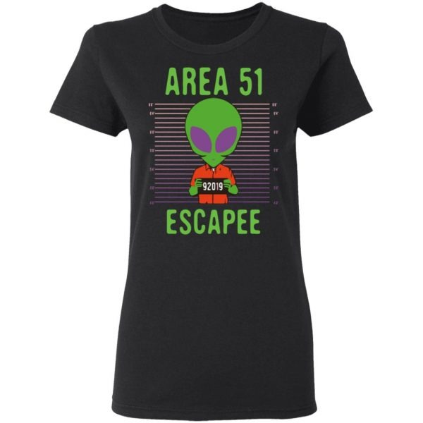 Area 51 Alien Costume Escapee Shirt