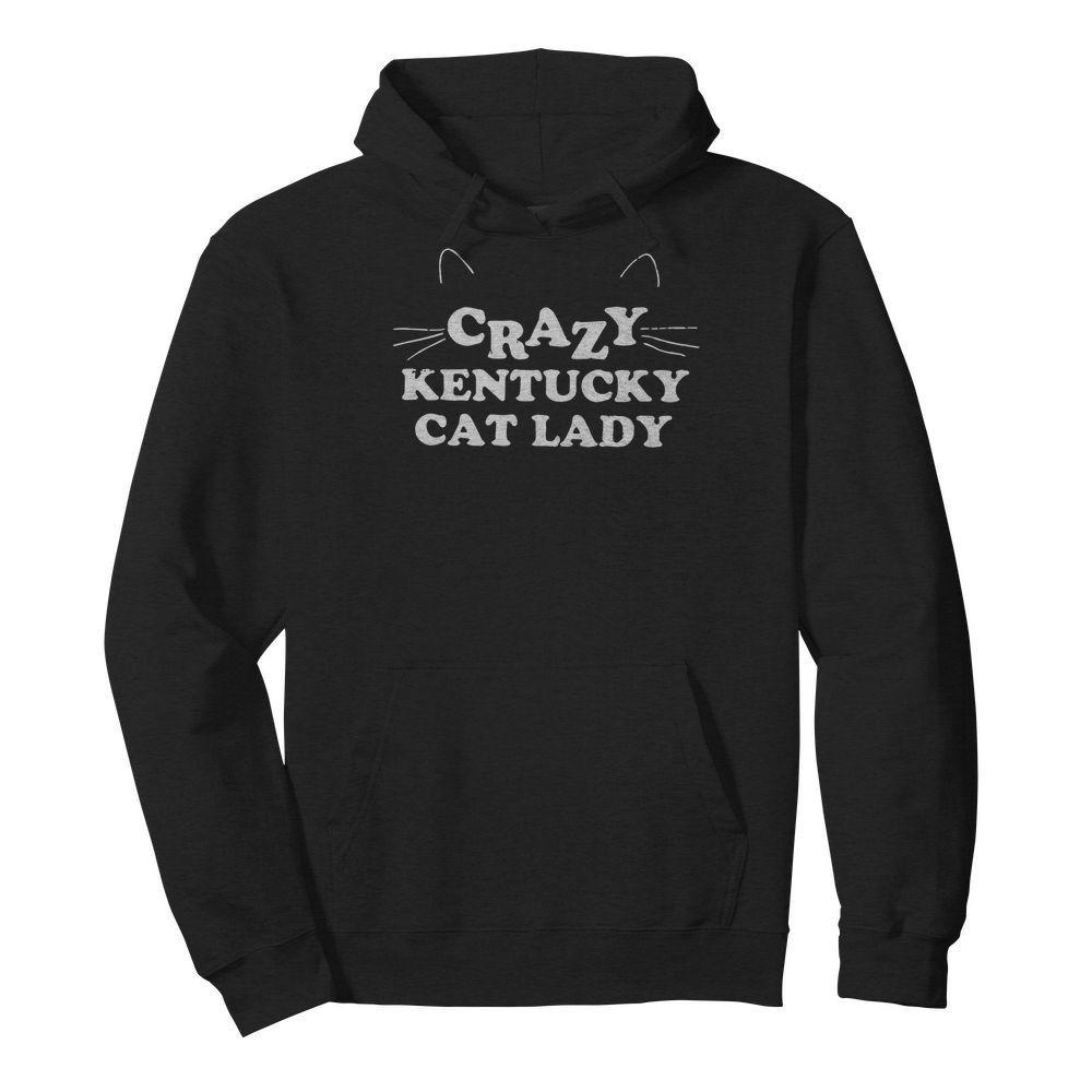 Crazy Kentucky Cat Lady Shirt