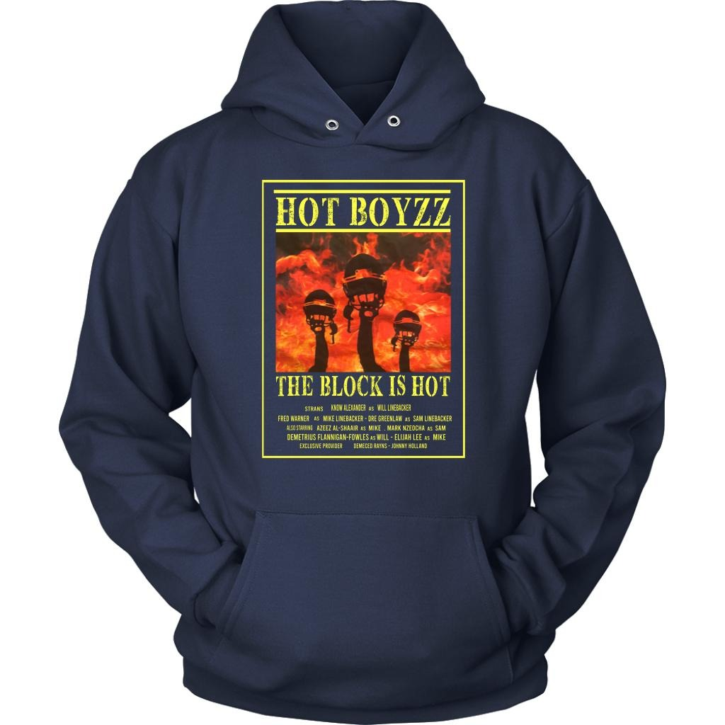 Hot Boyzz The Block Is Hot Shirt