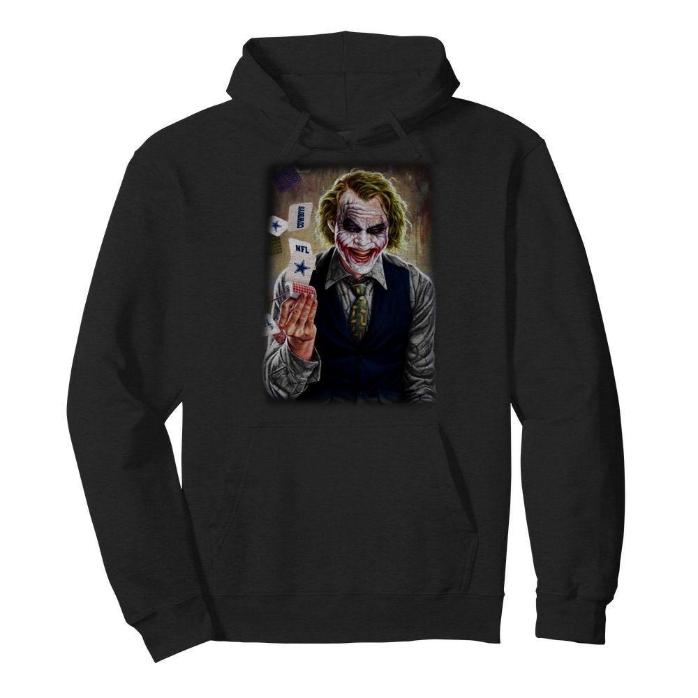 Joker Heath Ledger Nfl Dallas Cowboys Shirt