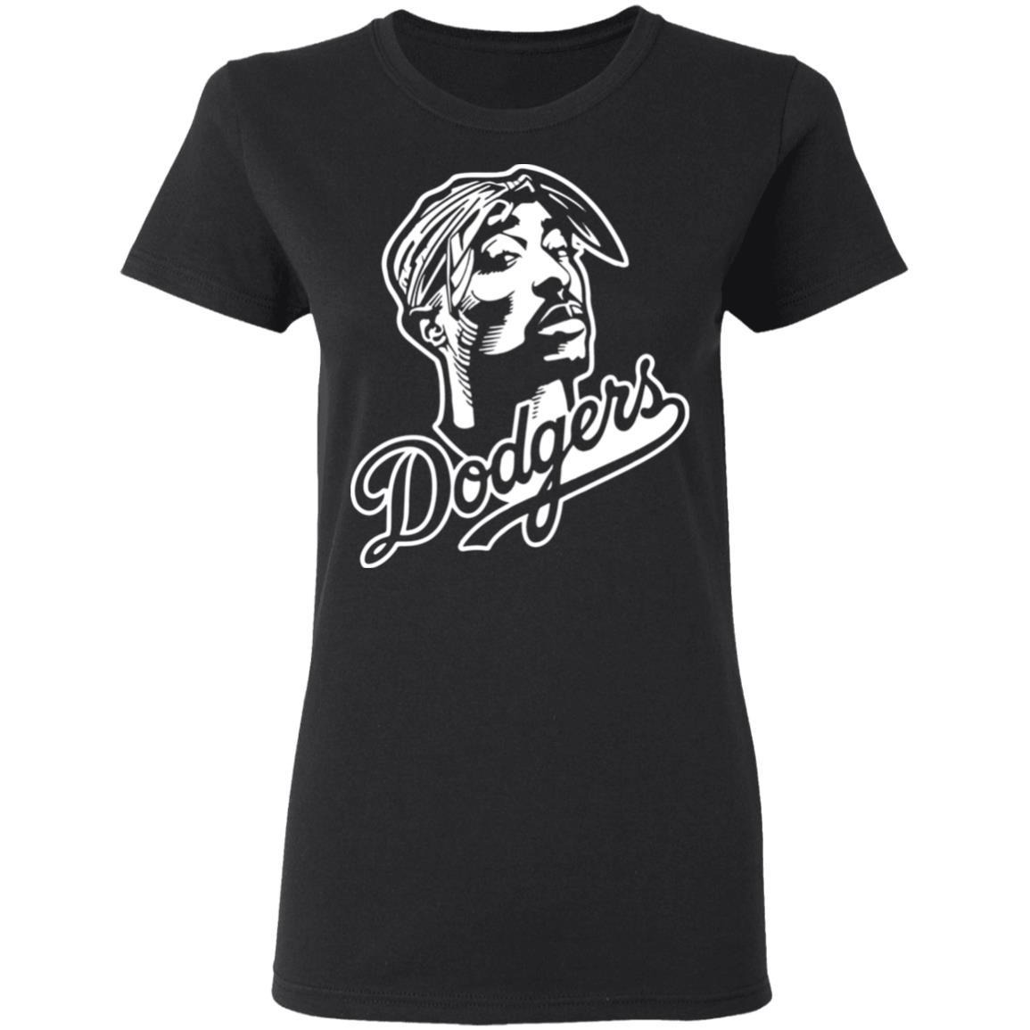 Tupac Dodgers Shirt