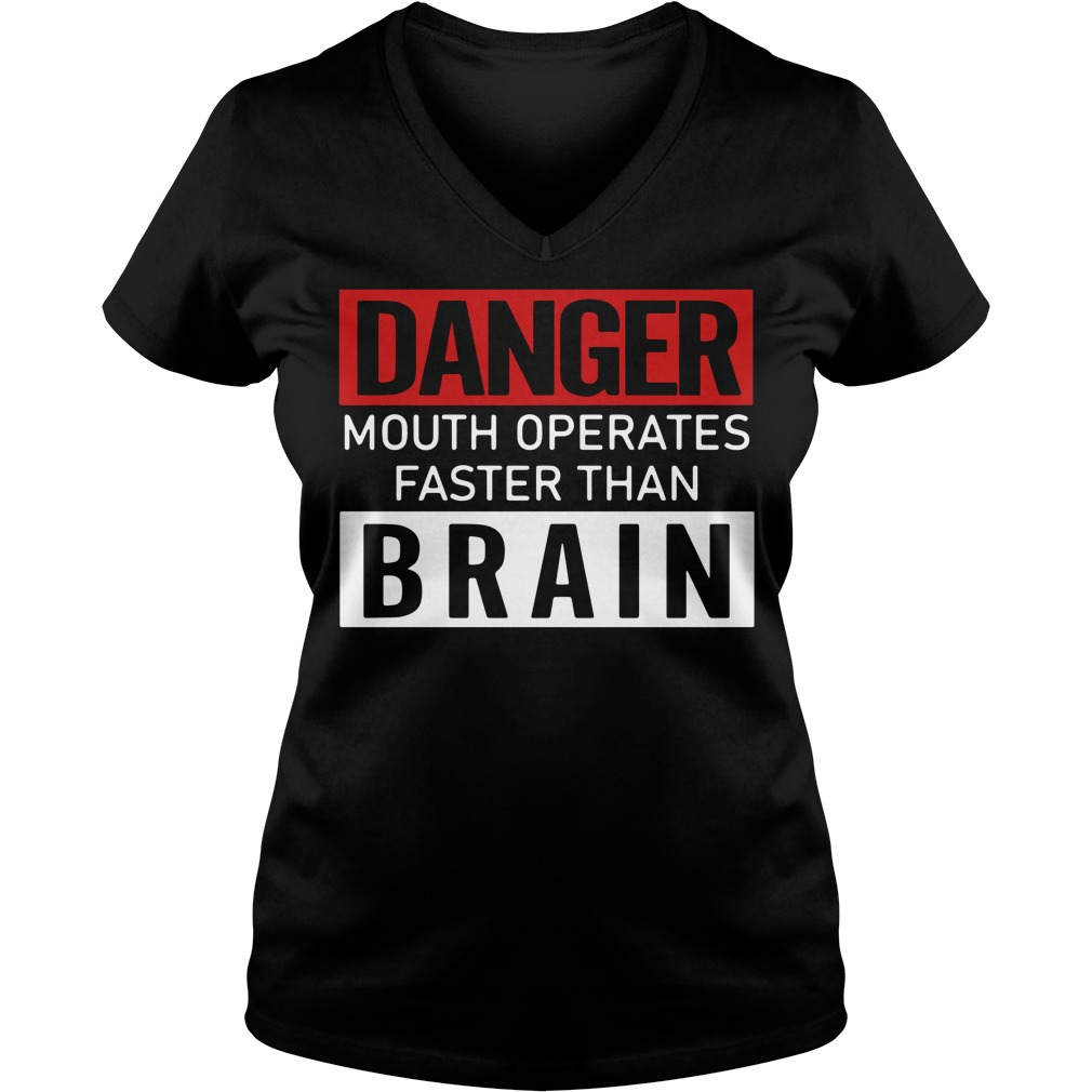 Danger Mouth Operates Faster Than Brain Shirt
