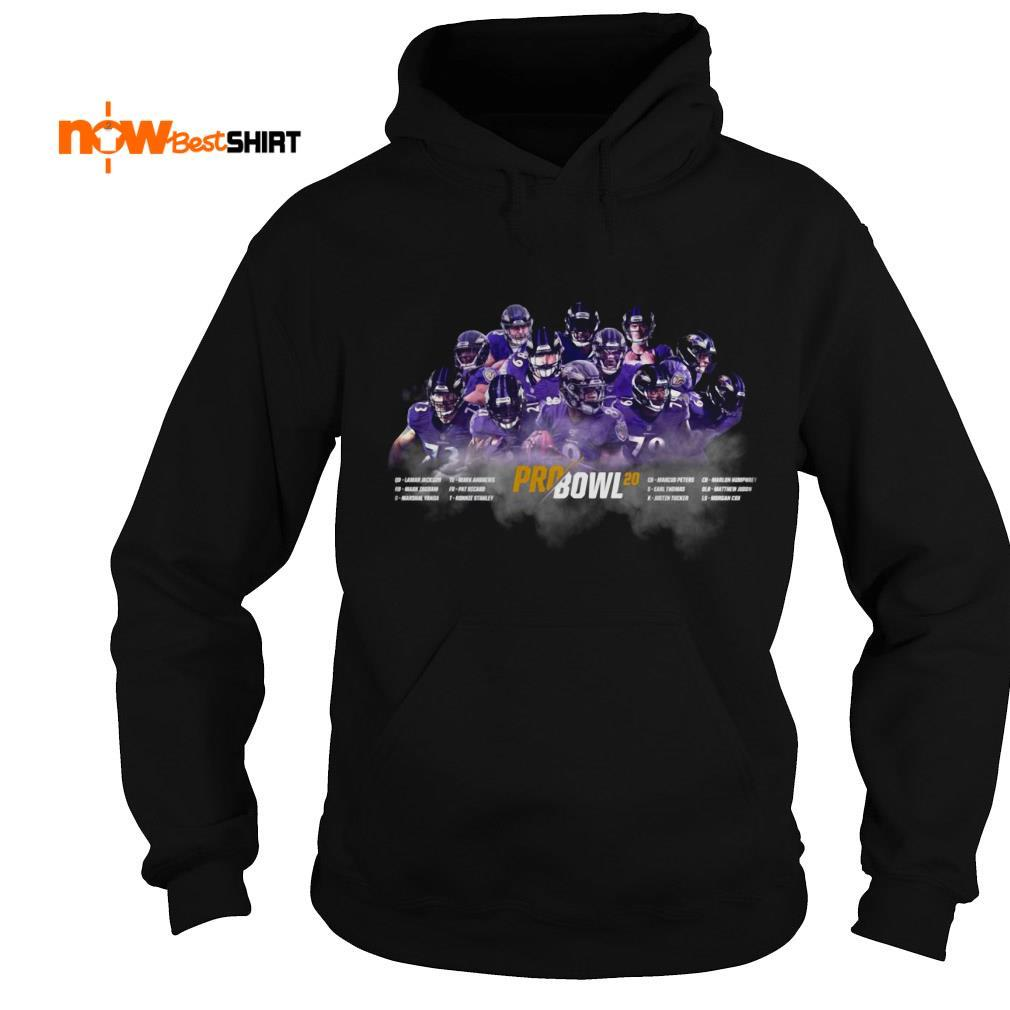 Final Baltimore's Record Pro Bowl 20 List Hoodie