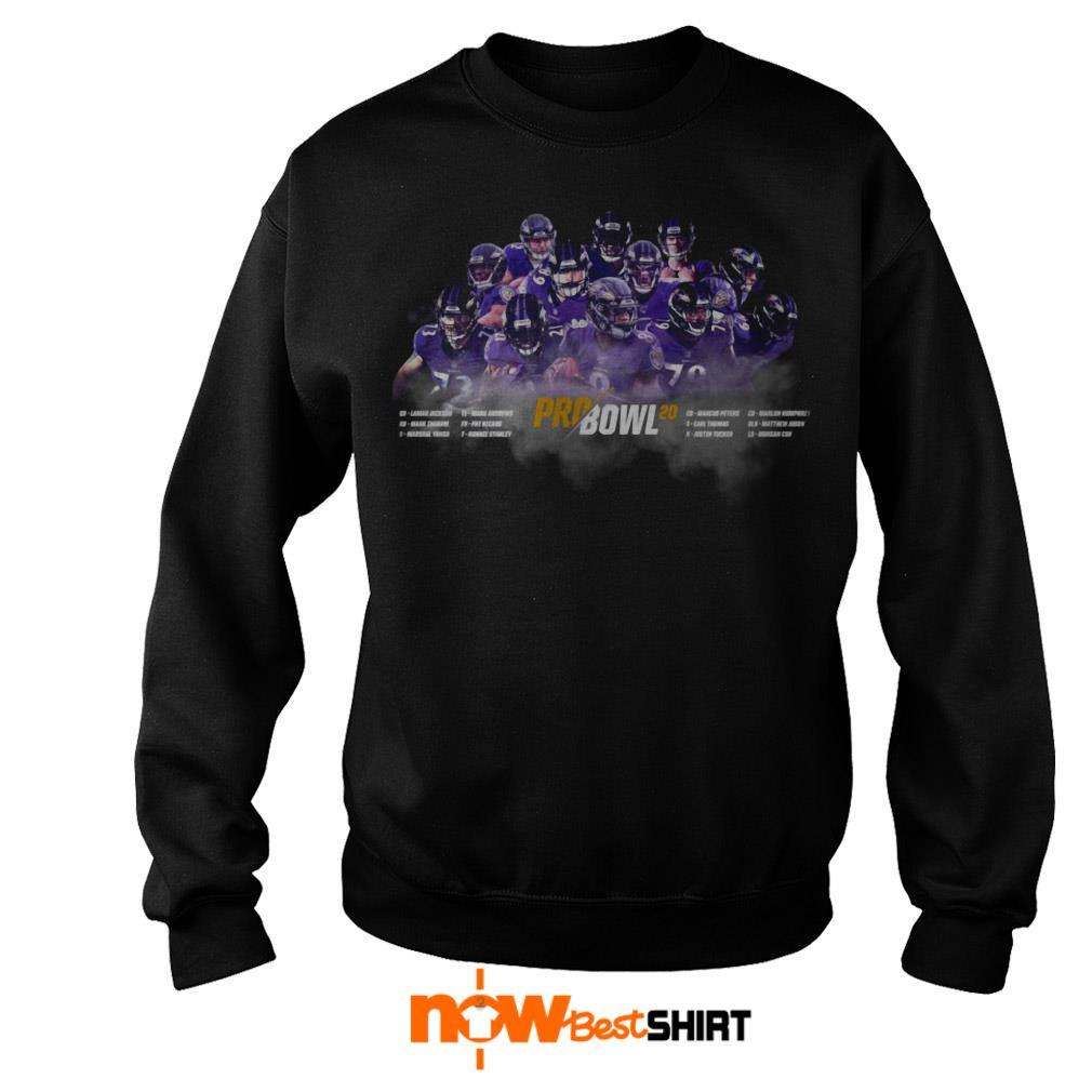 Final Baltimore's Record Pro Bowl 20 List Sweater