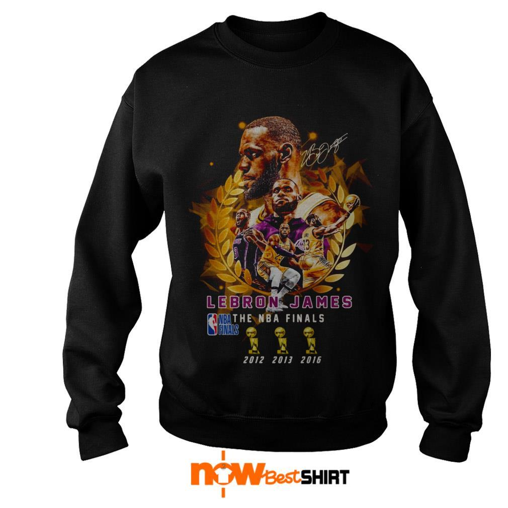 Lebron James The Nba Finals 2012 To 2016 Signature Sweater