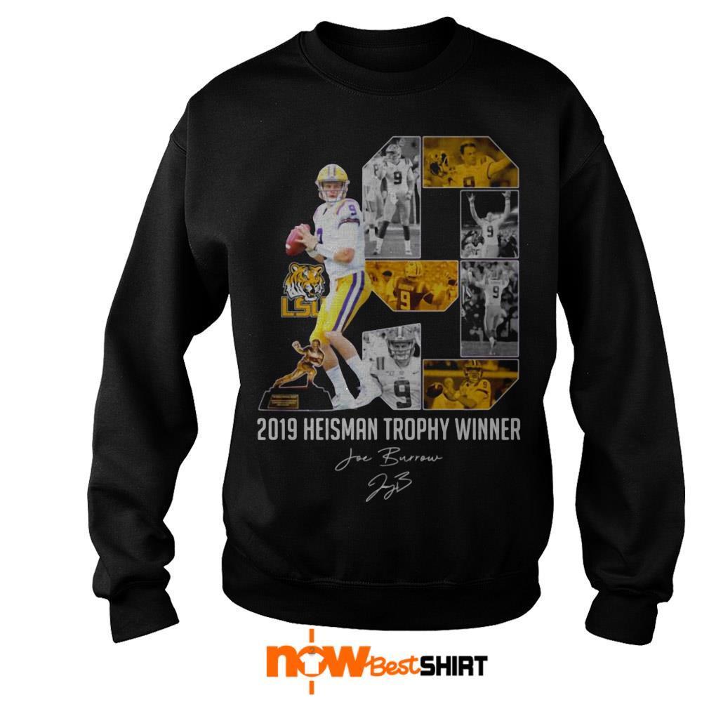 Lsu Tigers 2019 Heisman Trophy Winner Signature Sweater