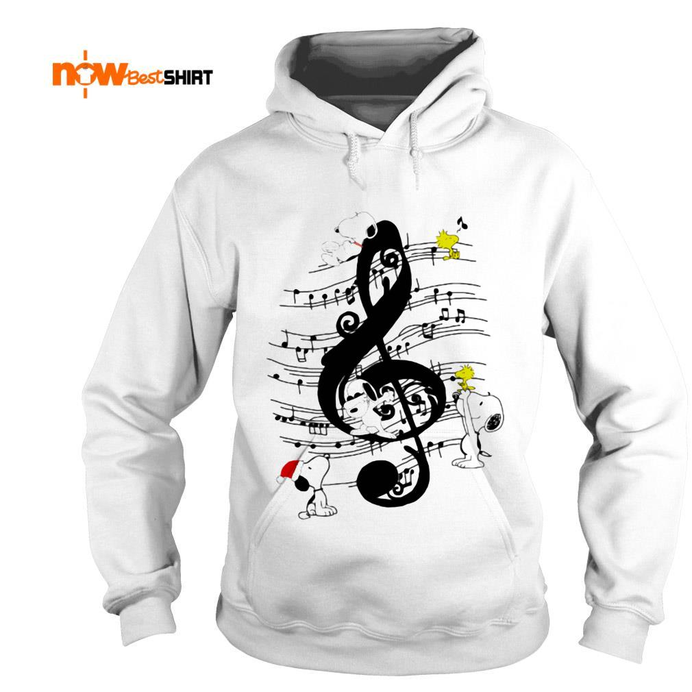 Musical The Peanuts Snoopy And Woodstock Hoodie