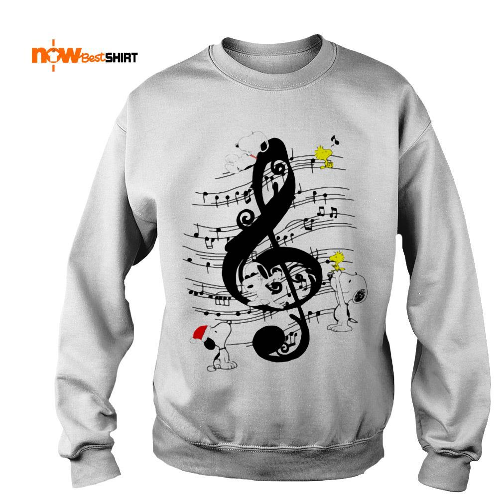 Musical The Peanuts Snoopy And Woodstock Sweater