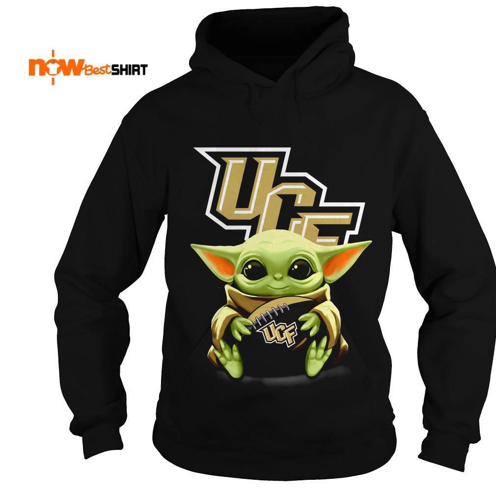 Official Star Wars Baby Yoda Hug Ucf Hoodie