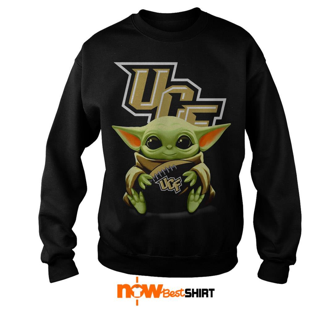 Official Star Wars Baby Yoda Hug Ucf Sweater
