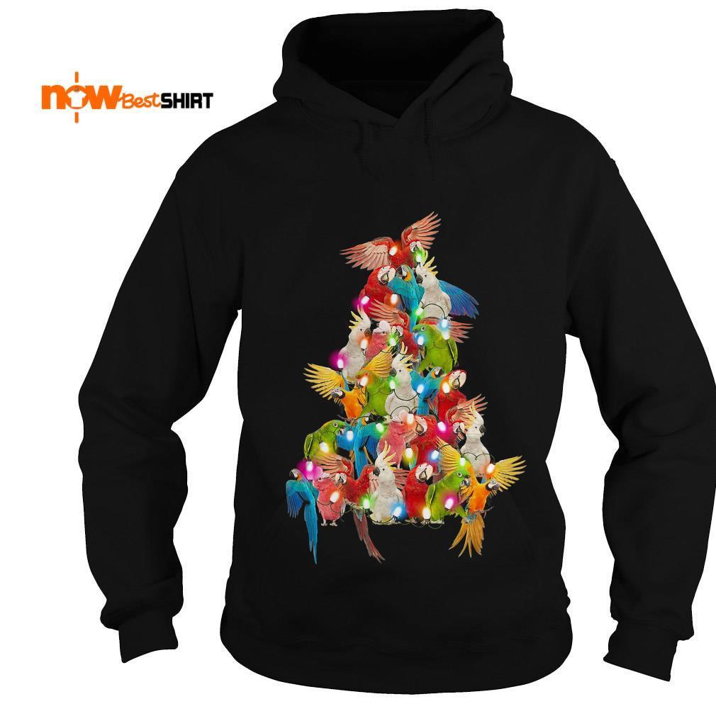 Parrot Paws Tree Christmas Hoodie