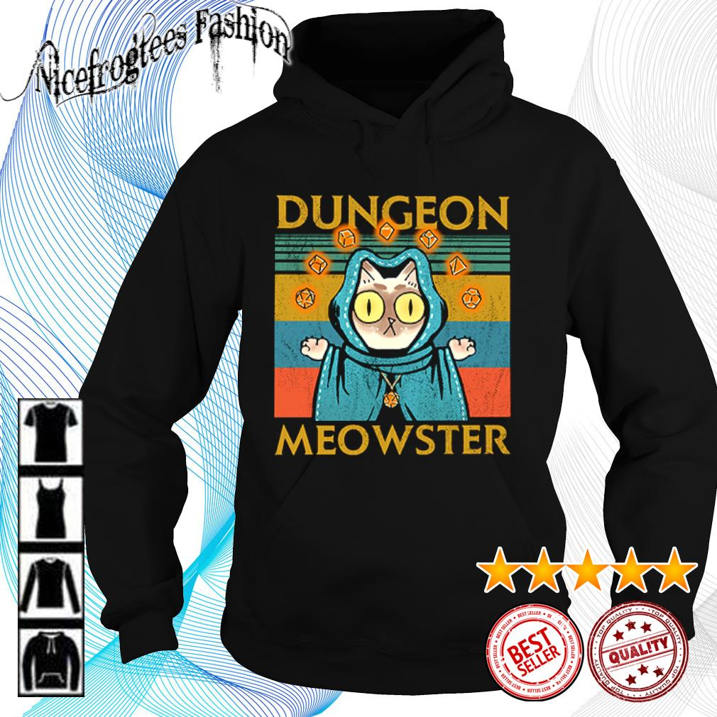 Cat dungeon meowster vintage s hoodie