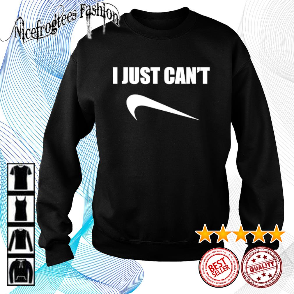 I just can't Nice s sweater