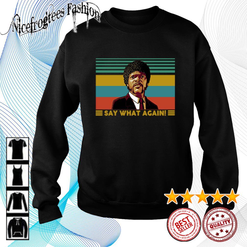 Jules Winnfield Say what again vintage s sweater