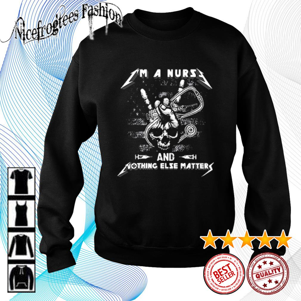 Metallica I'm a nurse and nothing else matters s sweater
