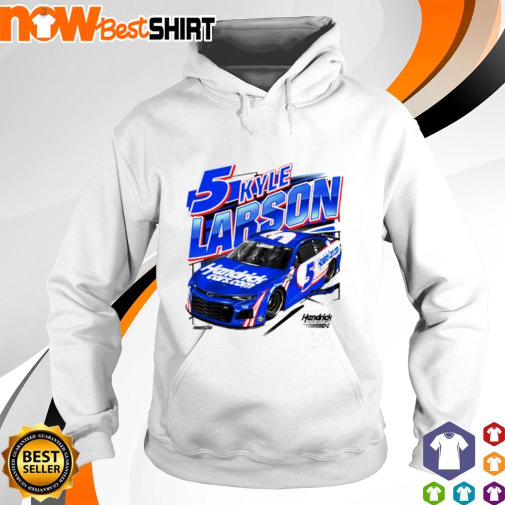 5 Kyle Larson 2021 HendrickCars.com s hoodie