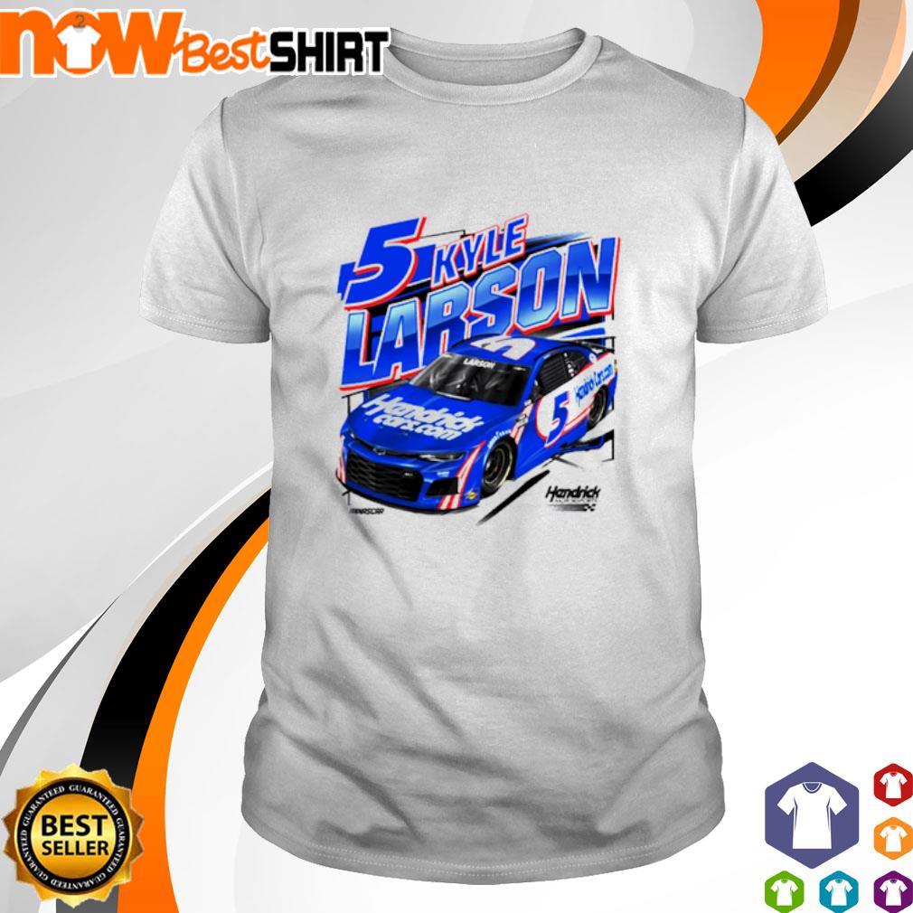 5 Kyle Larson 2021 HendrickCars.com shirt
