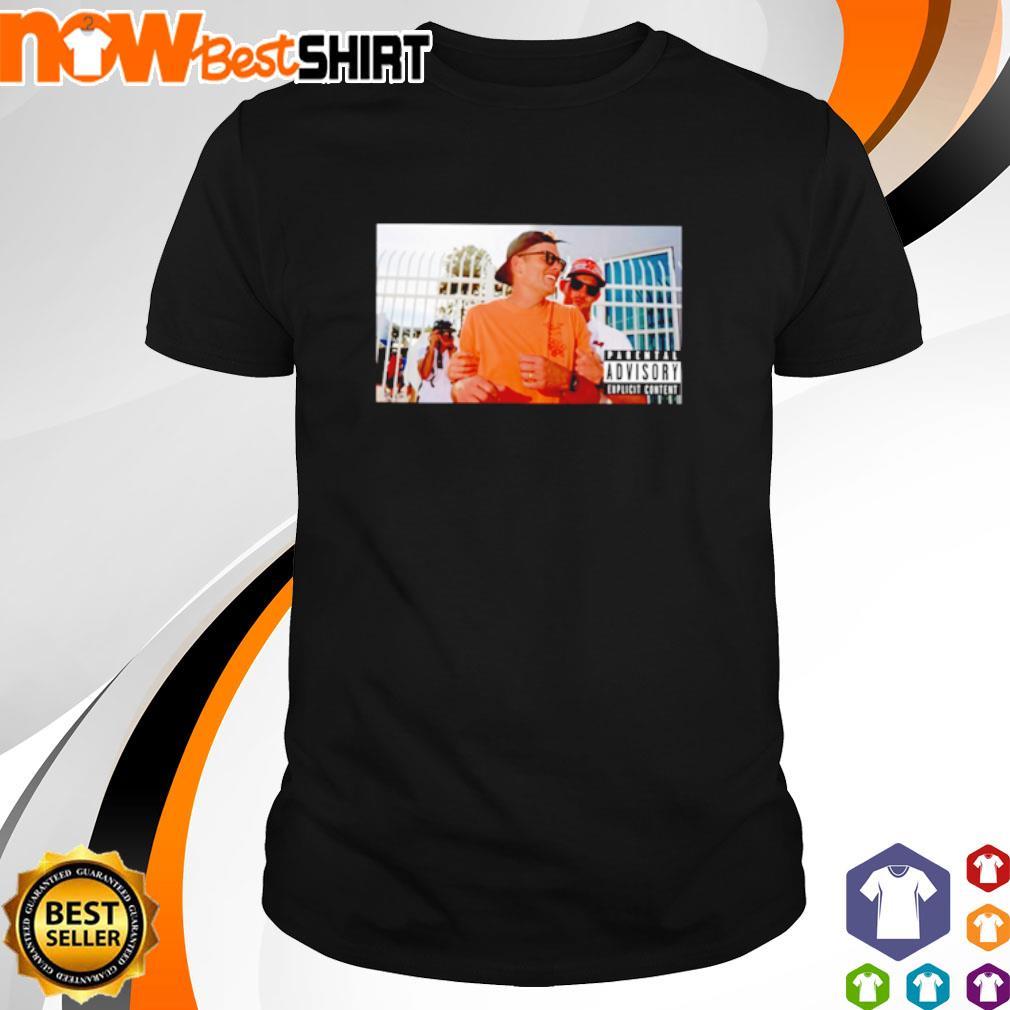 Awesome Tom Brady parental advisory explicit content shirt
