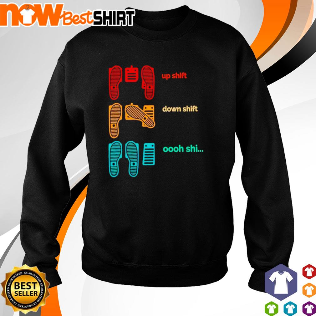 Cat up shift down shift oooh shi vintage s sweater