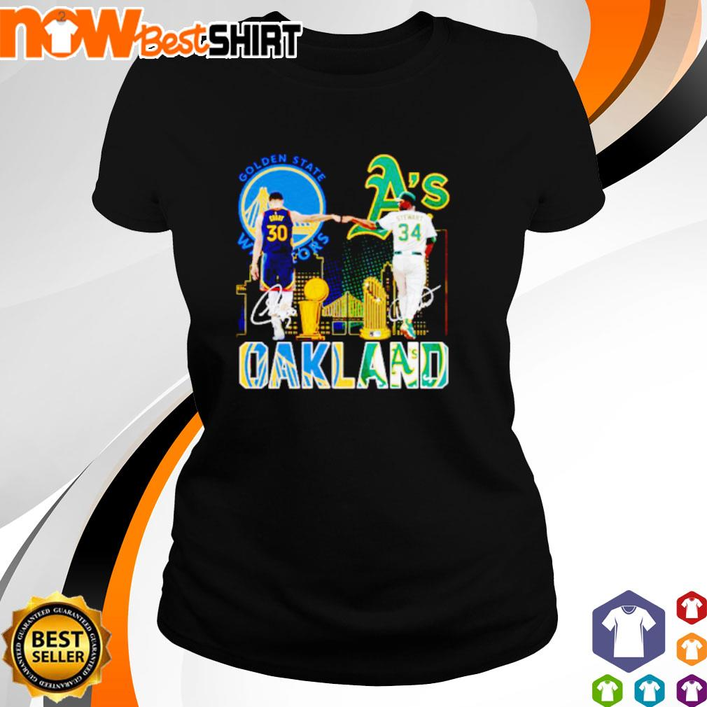 Golden State Warriors Stephen Curry and Oakland Athletics Dave Stewart Oakland s ladies-tee