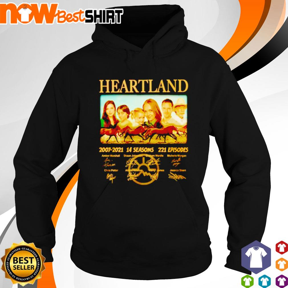 Heartland 2007 - 2021 14 seasons 221 episodes signatures s hoodie