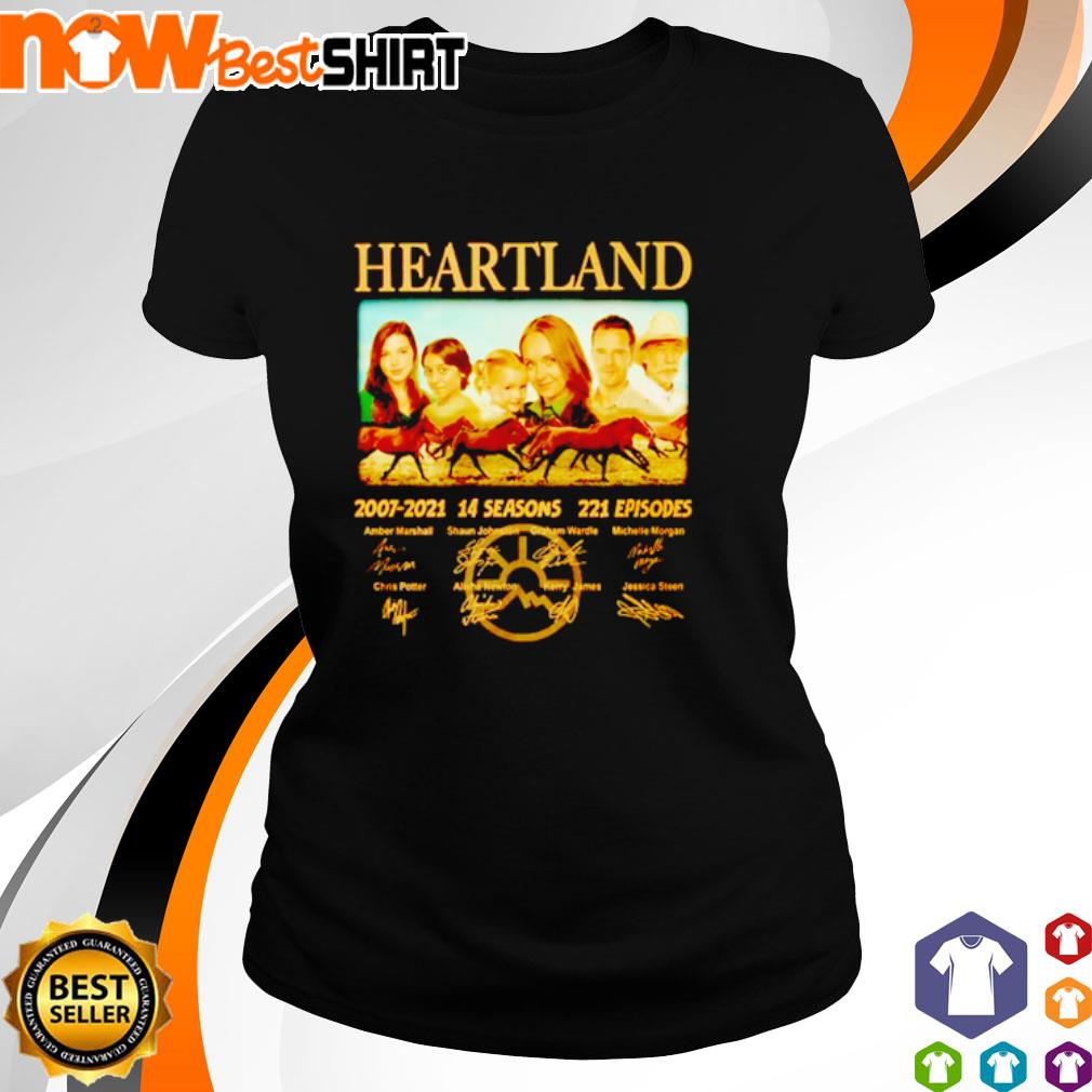 Heartland 2007 - 2021 14 seasons 221 episodes signatures s ladies-tee