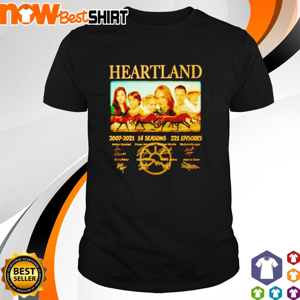 Heartland 2007 - 2021 14 seasons 221 episodes signatures shirt