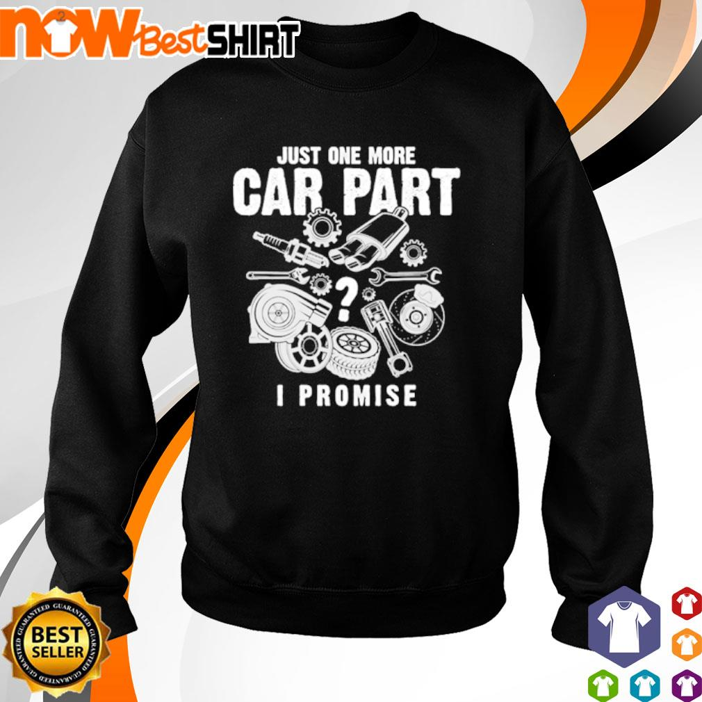 Just one more car part I promise Mechanic s sweater