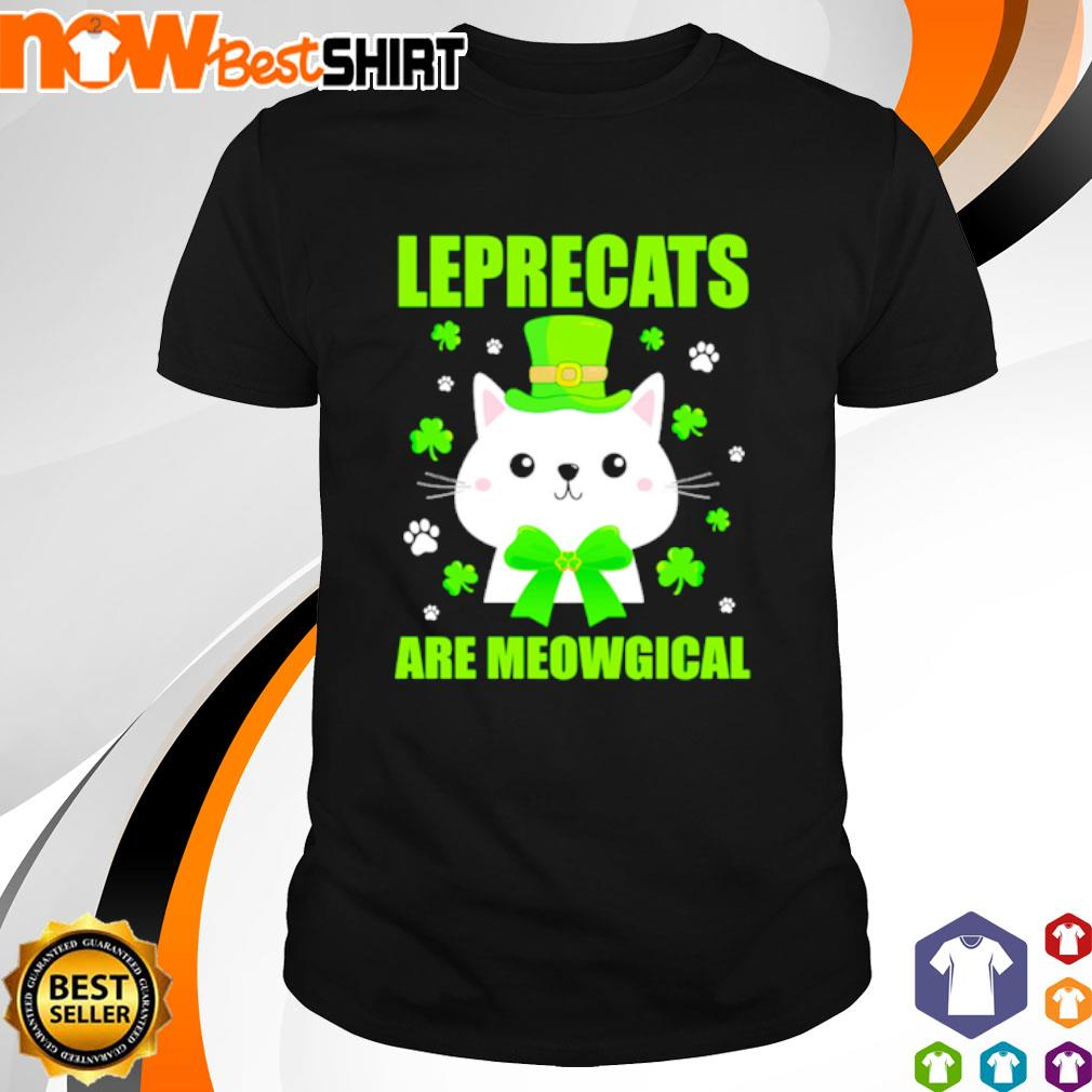 Leprecats are meowgical St. Patrick's Day shirt