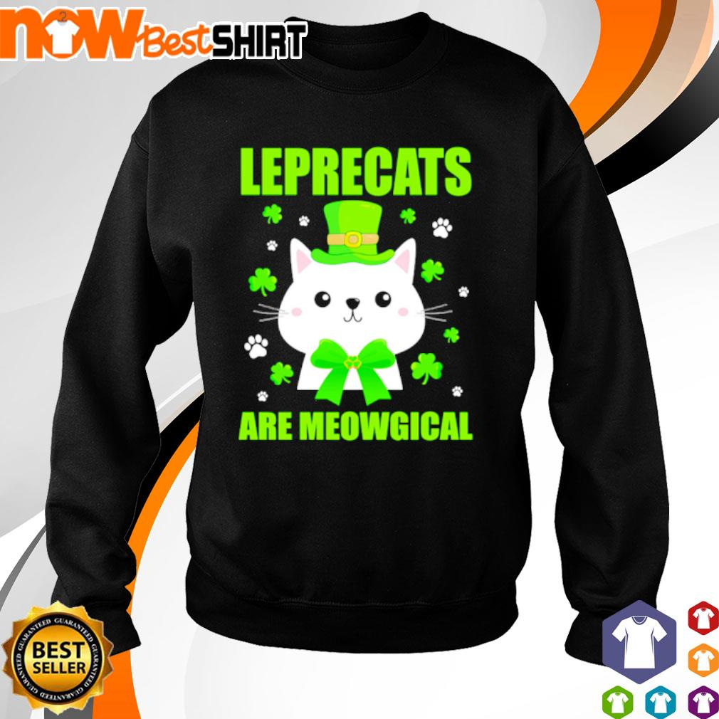 Leprecats are meowgical St. Patrick's Day s sweater