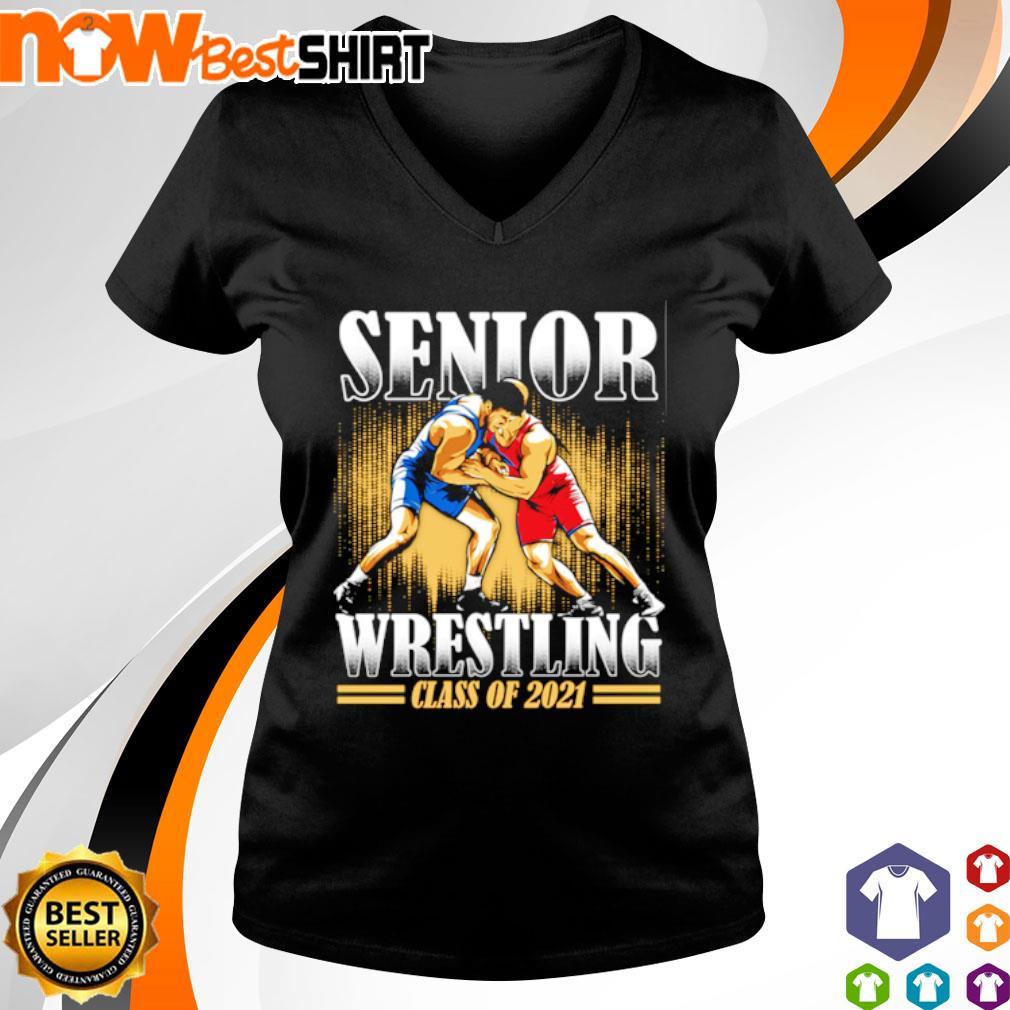 Senior Wrestling class of 2021 s v-neck-t-shirt