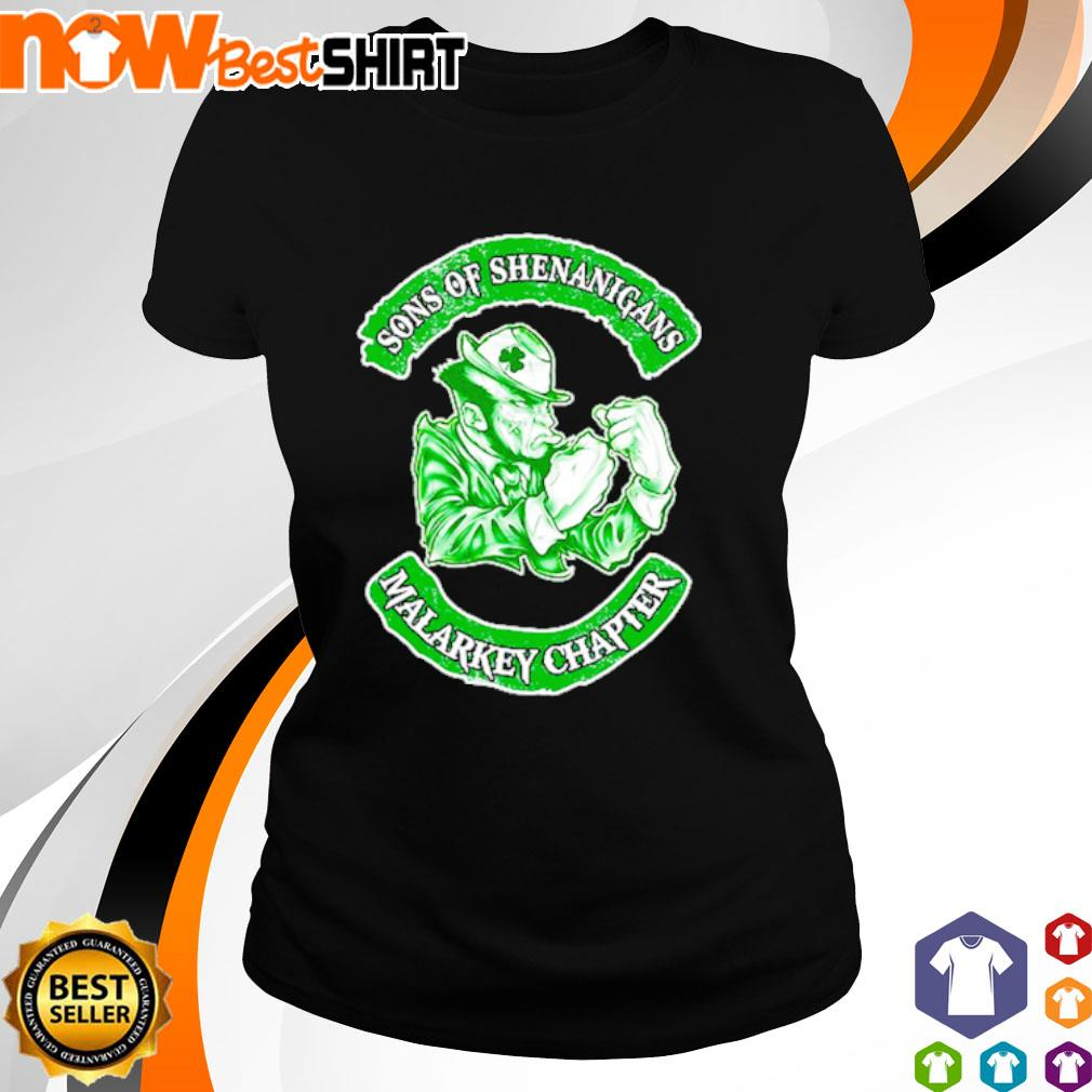Sons of Shenanigans Malarkey Chapter s ladies-tee