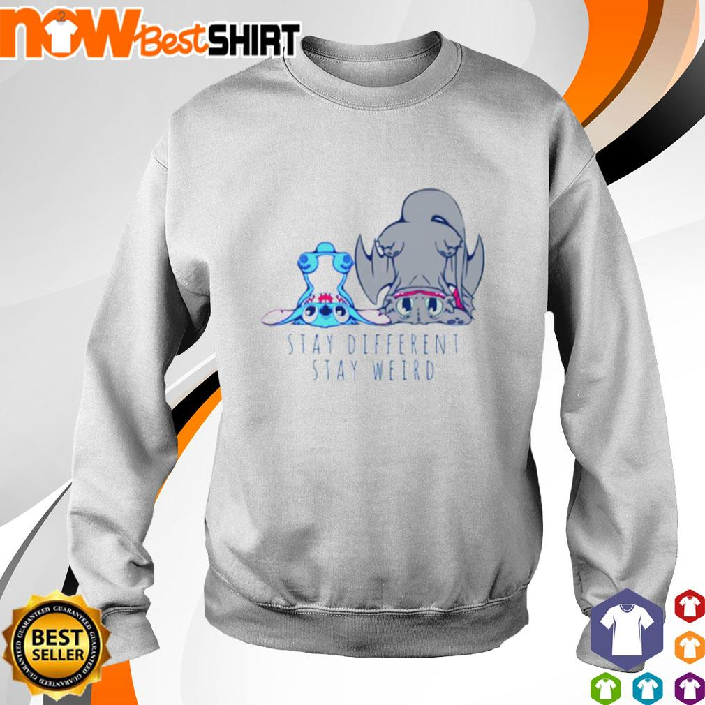 Stitch Toothless stay different stay weird s sweater