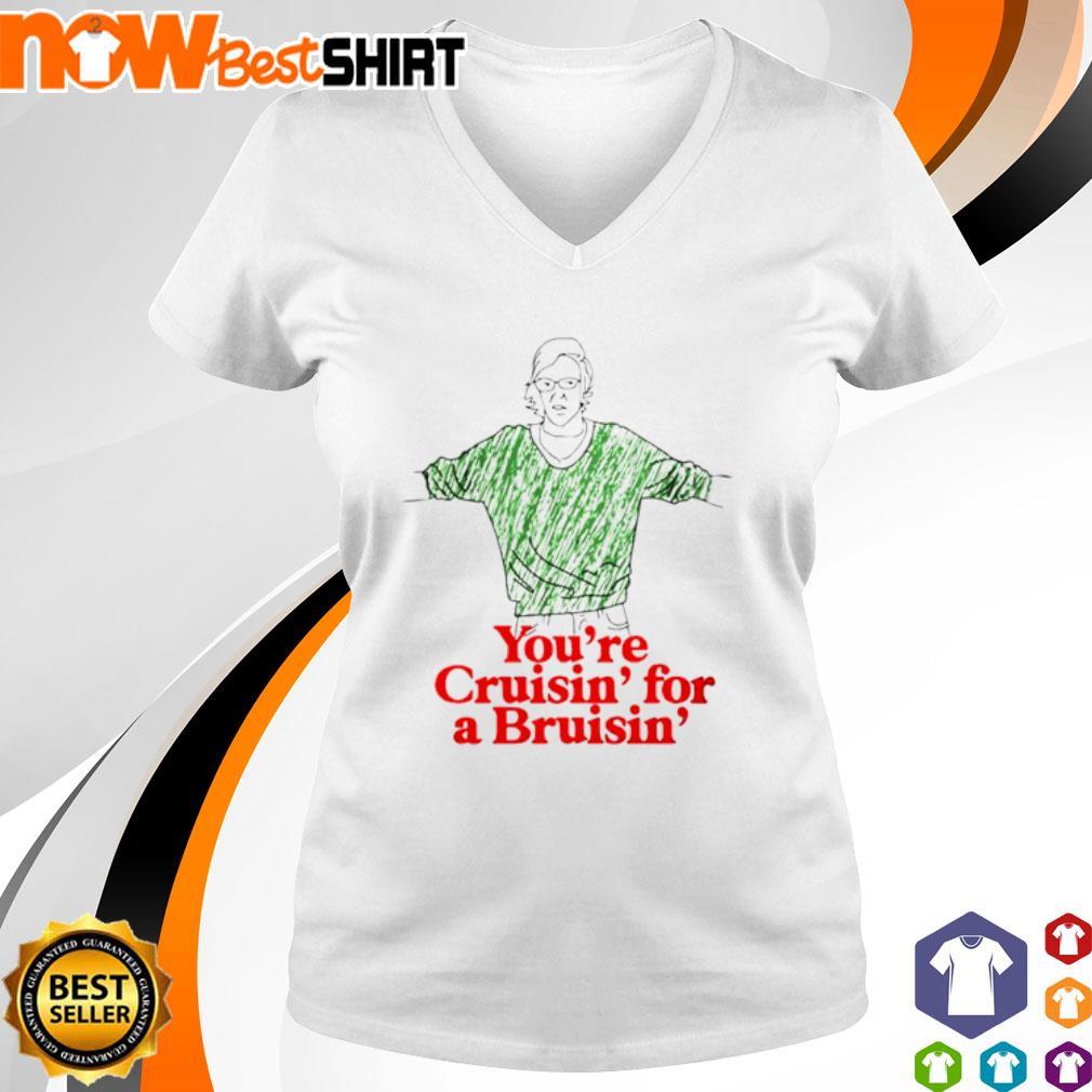 You're cruisin' for a Bruisin' s v-neck-t-shirt
