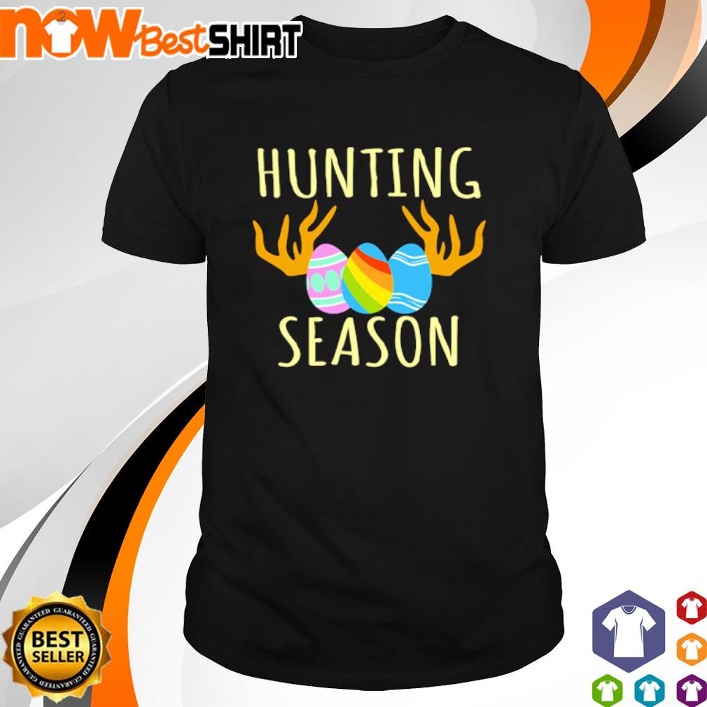 Happy Easter Bunny Hunting Season shirt