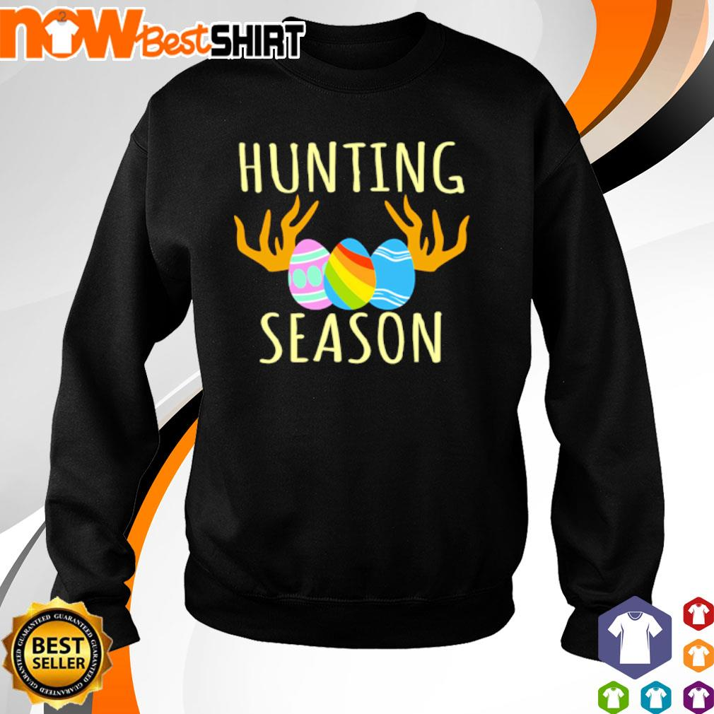 Happy Easter Bunny Hunting Season s sweater