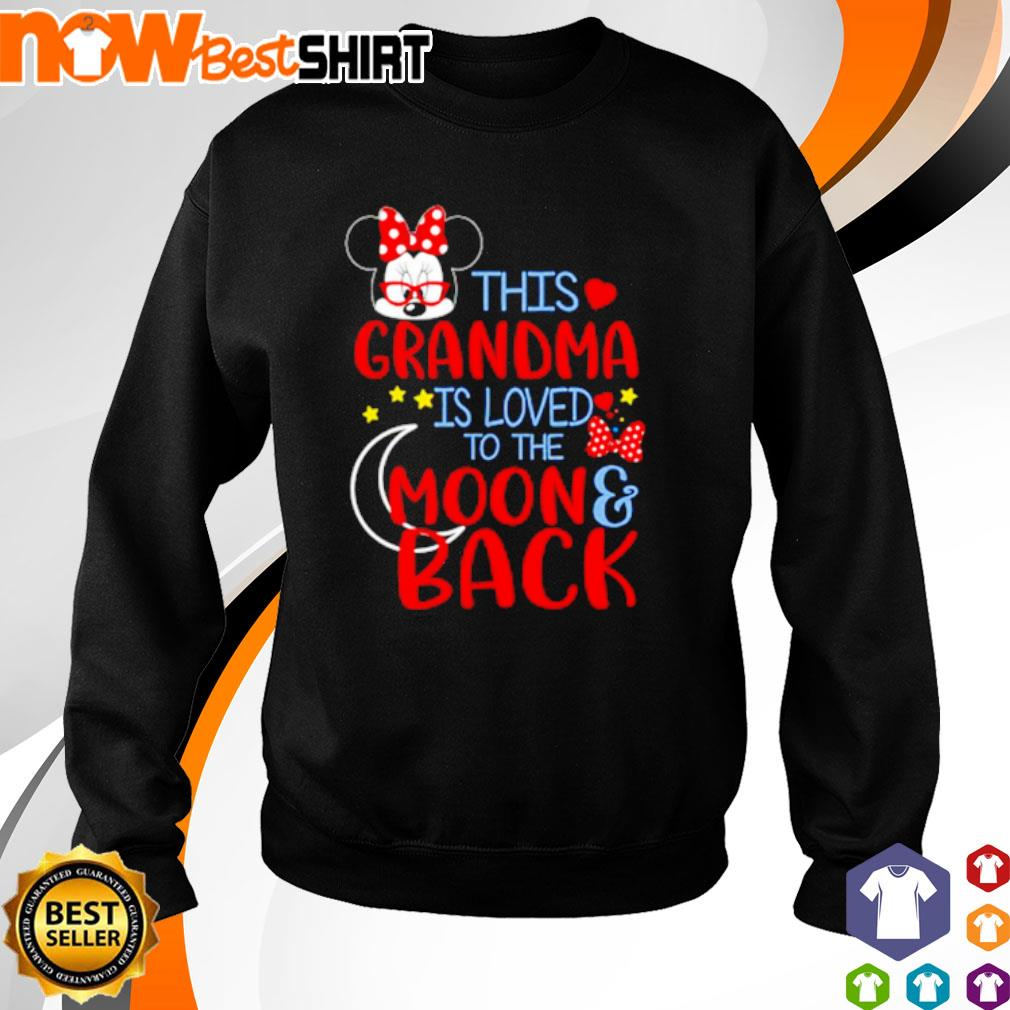 This grandma is loved to the moon back s sweater