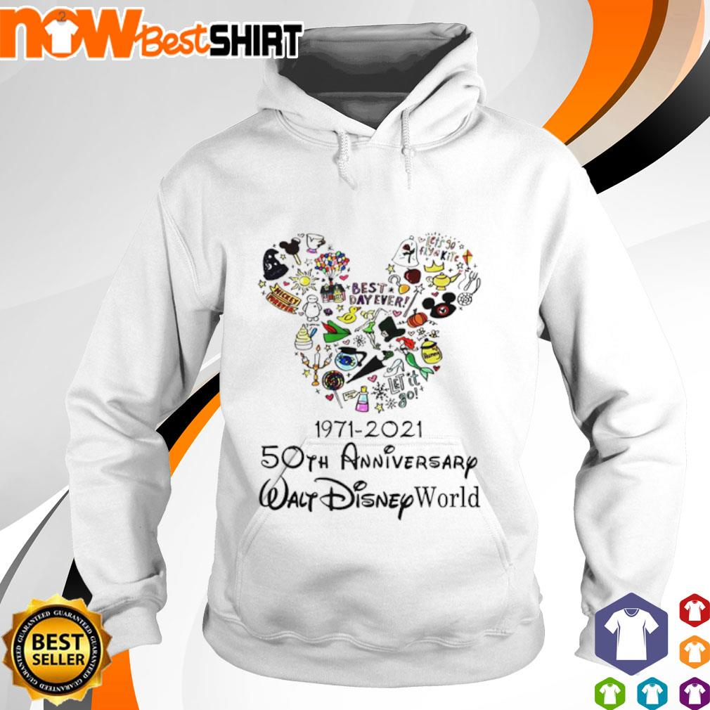 1971 - 2021 50th anniversary Walt Disney World hoodie
