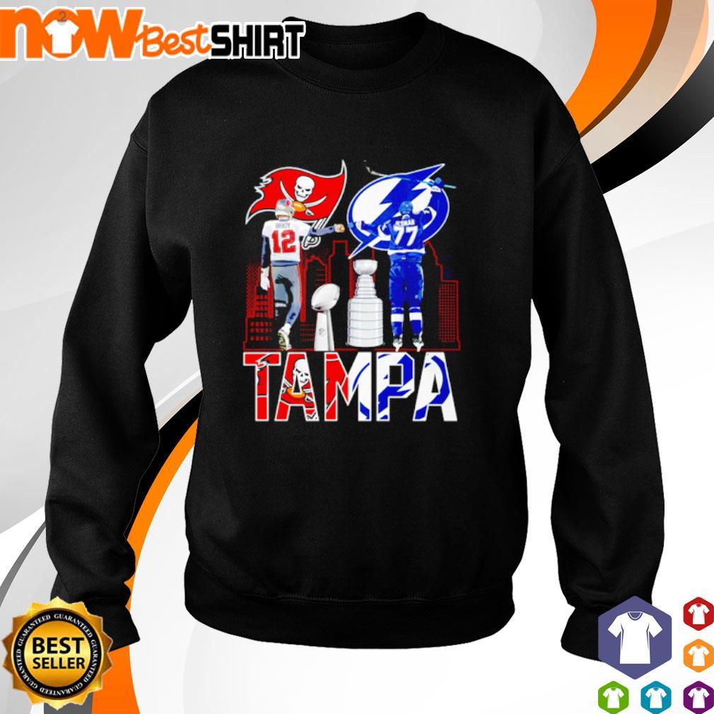 Tom Brady 12 Tampa Bay Buccaneers and Victor Hedman 77 ...